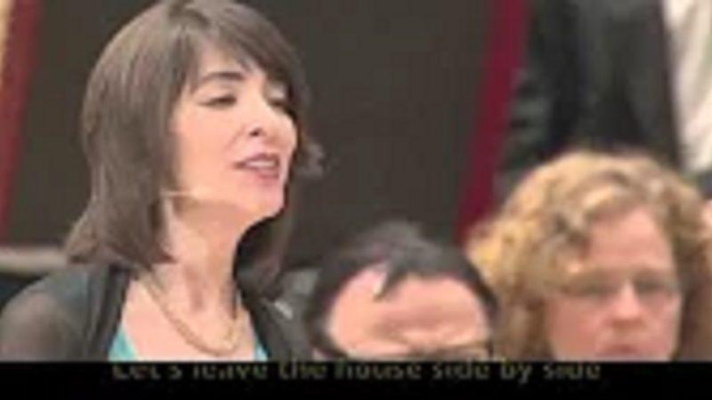 اجرای شعر جان مرم توسط مونیکا جلیلی و ارکستر فلارمونیک تورنتو
