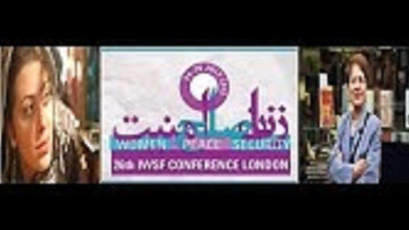 روجا فضائلی، شکیبا شاکر حسینی وفهمیه فرسایی در26مین کنفرانس پژوهشهای زنان