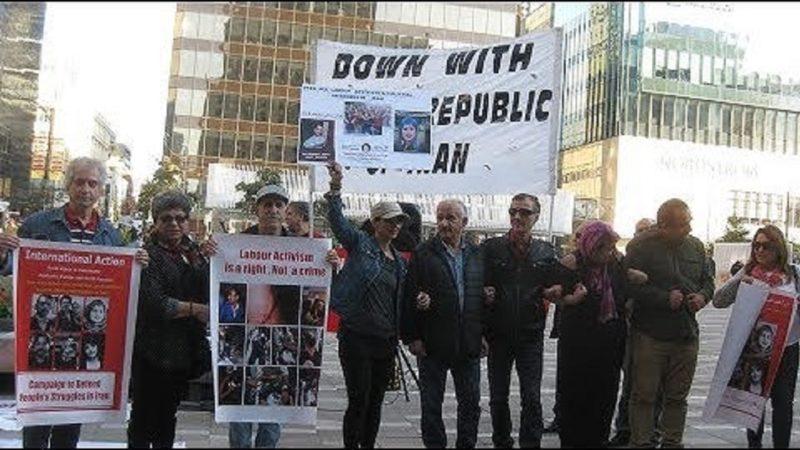 گزارش آکسیون ۲۰ سپتامبر در ونکوور در اعتراض به احکام بیدادگاههای رژیم ایران علیه فعالین