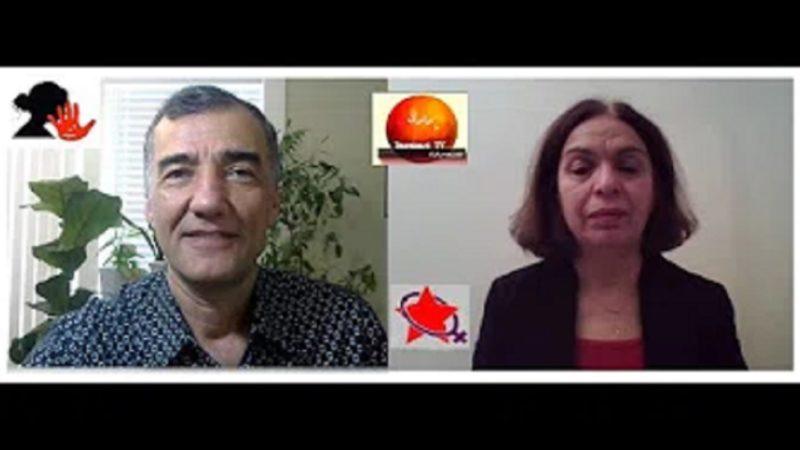 گفتگوی آرش کمانگر با فریبا ثابت بمناسبت روز جهانی منع خشونت علیه زنان