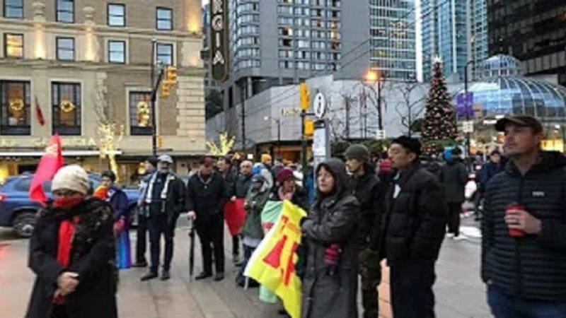 گزارش آکسیون 7 دسامبر در ونکوور، مبارزه برای آزادی کلیه زندانیان سیاسی