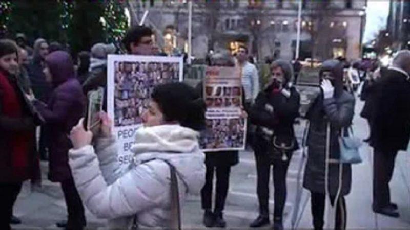 گزارش تجمع پنج دی، 26 دسامبر ونکوور در حمایت از فراخوان مادران جانباختگان در ایران
