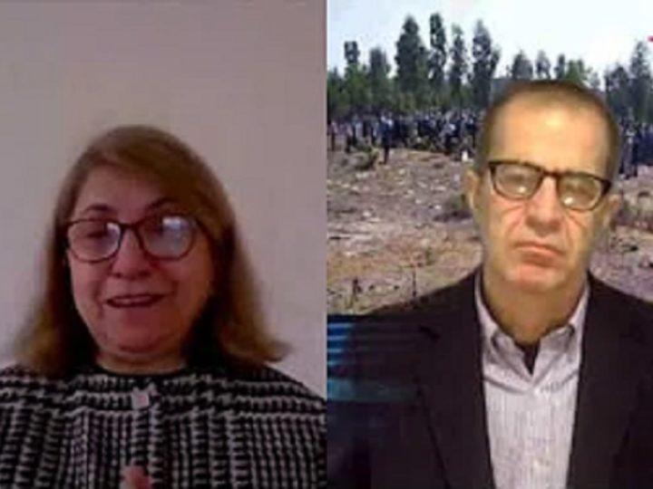 گفتگوی علی دماوندی با مرسده قائدی: یادمان مادر قائدی و جعبه سیاه وپررمز وراز دهه خونین شصت
