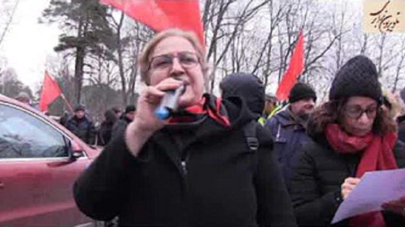 شورای استکهلم همراه احزاب ونیروهای چپ و کمونیست در دفاع از خیزش انقلابی در ایران