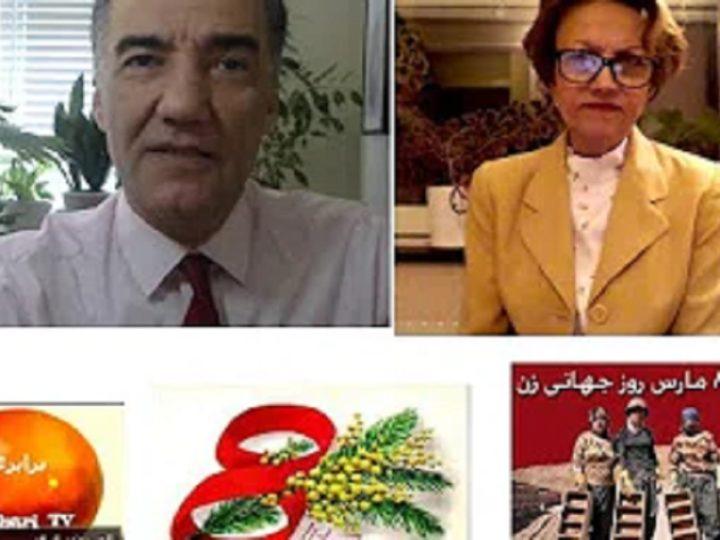 نگاهی تاریخی به مبارزات زنان ایران، گفتگوی آرش کمانگر با مهرآفاق مقیمی