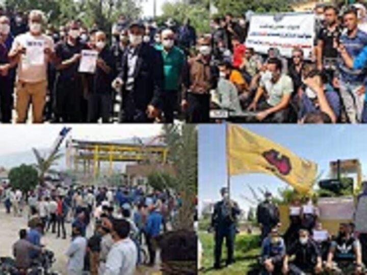 از میان رسانه ها با پیروز زورچنگ، بیانیه درخشان دهها تشکل و تجمع در ایران در دفاع از موج اعتصابات