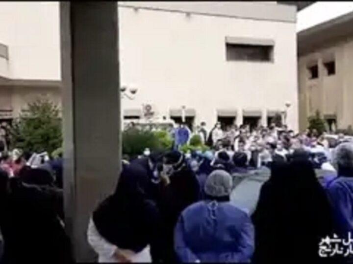 گزارش مهرآفاق مقیمی از اعتراضات اخیر پرستاران ایران