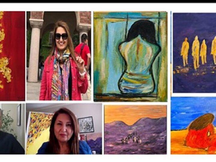 نگاهی به زندگی، فعالیت و کارهای شهره قنبری هنرمند نقاش