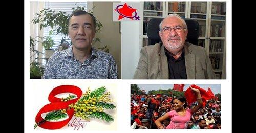 دیالوگ هفته: ۸ مارس و جنبش زنان، تاملی بر وظایف مردان، گفتگوی حسن حسام و آرش کمانگر