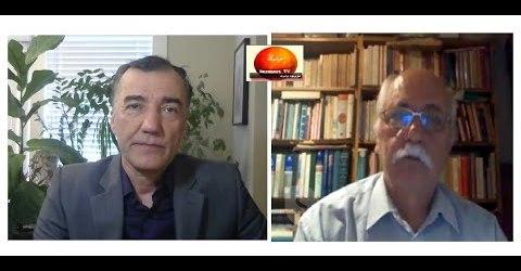 گفتگو با محسن حکیمی نویسنده در ایران پیرامون نمایش انتخاباتی و مناظره کاندیداهای انتصابی