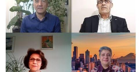 نمایش انتخابات در ایران از منظر چپ – میزگرد سوم با مرجان افتخاری، عمر مینایی و شادیار عمرانی