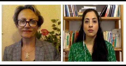 گفتگوی مهرآفاق مقیمی با مونا سیلاوی درباره خیزش خوزستان و ستم مضاعف بر مرددم عرب