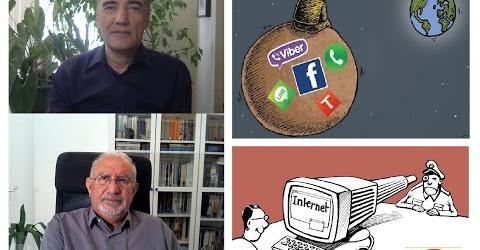 """دیالوگ هفته: طرح فاشیستی """"صیانت از فضای مجازی"""" و سه هدف محوری آن، با حسن حسام و آرش کمانگر"""