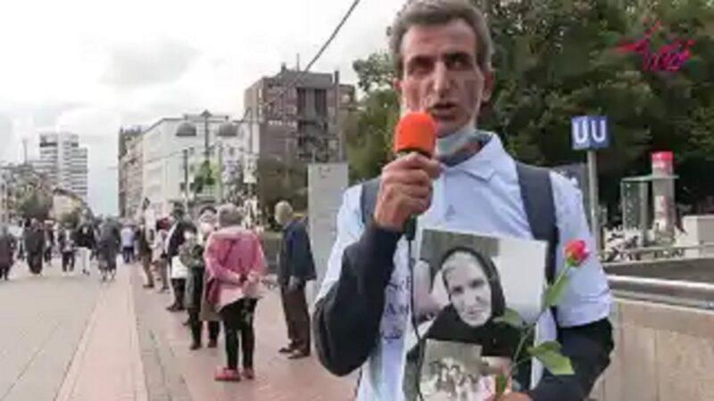 زنجیره انسانی در هانوفر به مناسبت یادمان کشتار زندانیان سیاسی – کانون کنشگران دموکرات و سوسیالیست